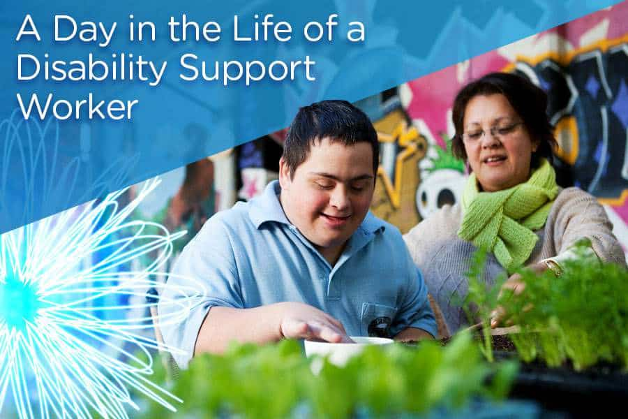 A Day in the Life of a Disability Support Worker