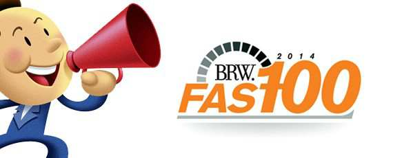 MCIE 29th on the BRW Fast 100 Awards!