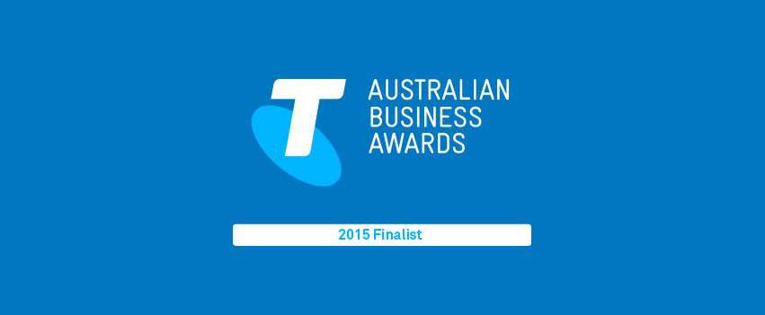 MCIE A Finalist in the Telstra Business Awards 2015