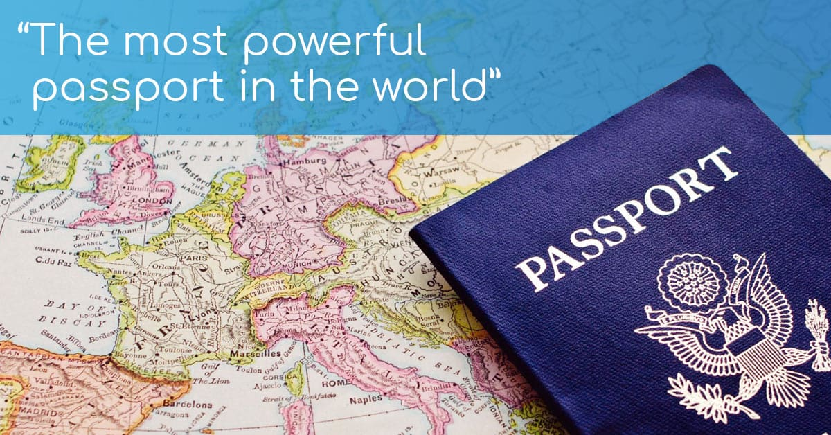 Which passport will get you into the most countries, visa-free?