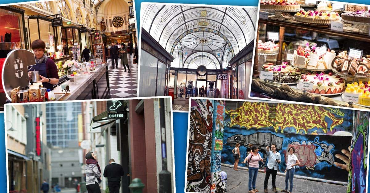 Melbourne's 5 Best Laneways & Arcades to Discover!
