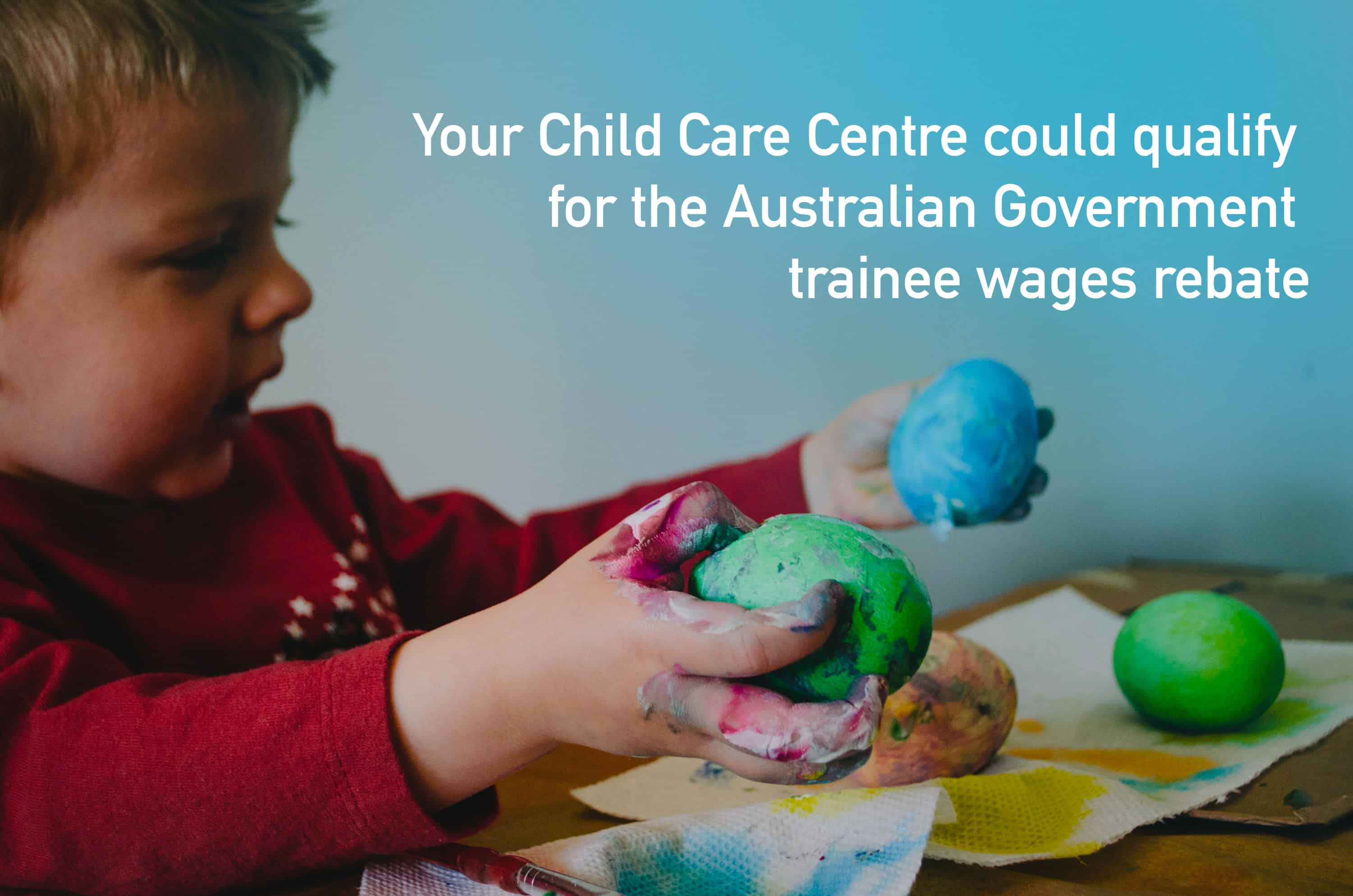 Your centre can receive a 50% rebate on trainee wages thanks to the Australian Government's new incentive